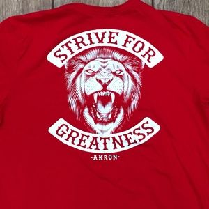 Strive for Greatness Nike Code of Warrior T-Shirt